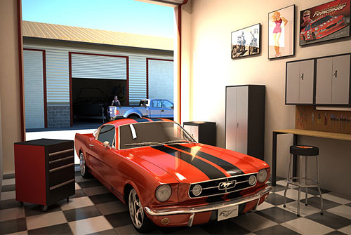 Man Cave Storage Units : What is included monte carlo garage suites